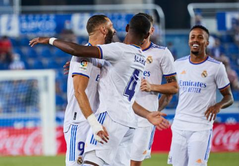 """Real"" pergalingai pradėjo ""La Liga"" sezoną"