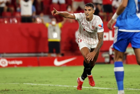 "E. Lamelos vedama ""Sevilla"" sezoną pradėjo triuškinančia pergale"