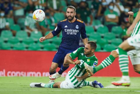 """""""Real"""" minimaliu rezultatu palaužė """"Real Betis"""" ekipą"""