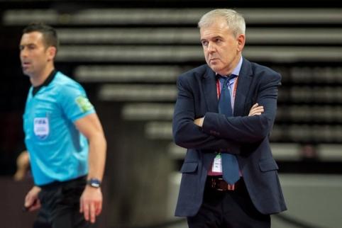"""J. Ryvkinas: """"Liūdna dėl rezultato, bet čempionatas tęsiasi"""""""