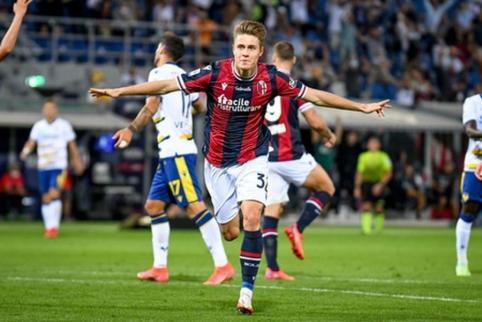"""""""Bologna"""" tęsia sėkmingą sezono startą: namuose patiesė """"Hellas Verona"""" ekipą"""