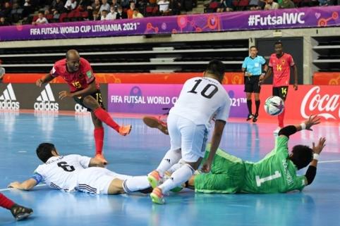 Futsal: nerezultatyviausios turnyro rungtynės ir minimali Lietuvos skriaudikų pergalė
