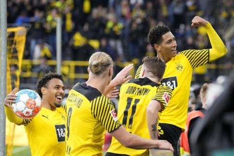 """Vokietijoje """"Borussia"""" ir """"Bayer"""" iškovojo pergales"""