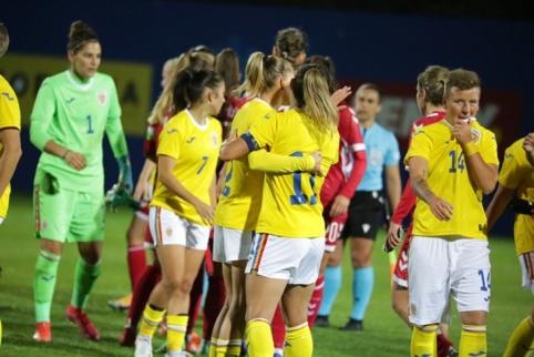 Rumunija sutriuškino Lietuvos moterų rinktinę
