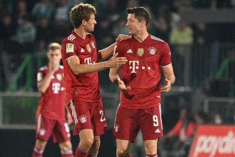"""Vokietijoje – eilinė """"Bayern"""" pergalė"""