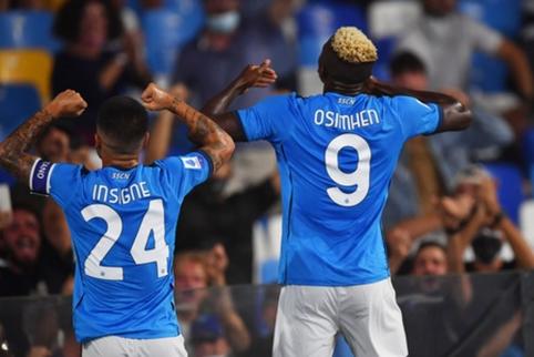 """6 iš 6: """"Napoli"""" įveikė """"Cagliari"""" ir pratęsė sėkmingą sezono startą"""