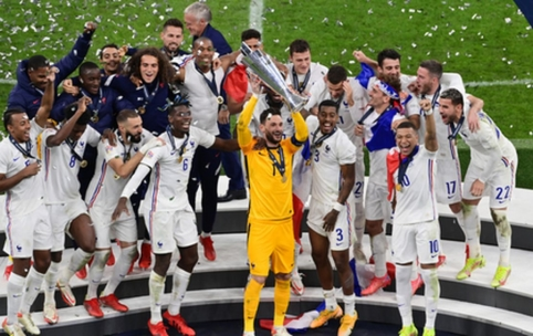 Vėl į rungtynes sugrįžusi Prancūzijos rinktinė – UEFA Tautų lygos čempionai