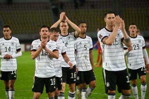 Vokietija pirmoji kvalifikavosi į pasaulio čempionatą