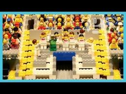 Lego kaladėlėmis įspūdingai sudėlioti PČ finalo epizodai