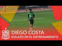 Ispanijos rinktinės treniruotėje - I.Casillaso fiasko prieš D.Costą