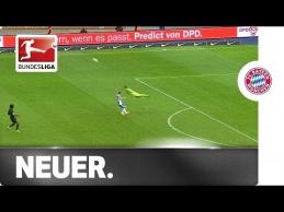M.Neueris vėl pademonstravo sau įprastus triukus