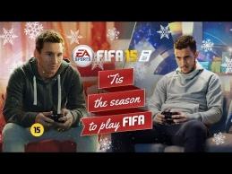 L.Messi ir E.Hazardas varžėsi FIFA 15 žaidime