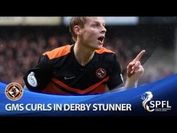 """Miesto derbyje - klastingas """"Dundee United"""" žaidėjo įvartis"""