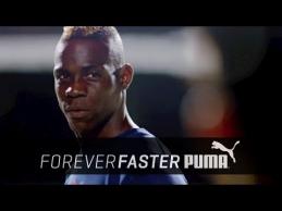 """""""Puma"""" reklamoje M.Balotelli pademonstravo triuškinantį smūgį"""