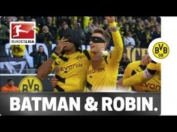 """""""Borussia"""" rungtynėse - Betmenas ir Robinas"""