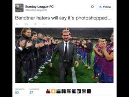 """Po N.Bendtnerio """"hat-tricko"""" - pokštai internete"""