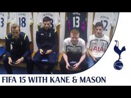 H.Kane'as su komandos fanais žaidė FIFA15