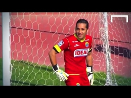Čilės futbolo čempionate - klastingas E.Renteria įvartis