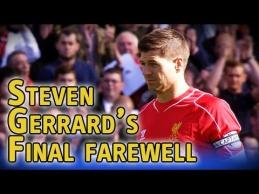 """S.Gerrardas emocingai atsisveikino su """"Liverpool"""" fanais"""