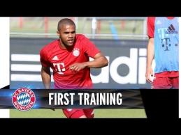 """Pirmoji D.Costos treniruotė """"Bayern"""" ekipoje"""