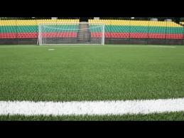 LFF stadione futbolininkai galės žaisti ant ypatingos dirbtinės vejos