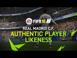 """FIFA 16 kūrėjai bendradarbiauja su Madrido """"Real"""" ekipa"""