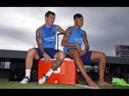 L.Messi ir kitos žvaigždės prisijungė prie klubo treniruočių