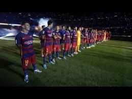 """Įspūdingas """"Barcelona"""" ekipos pristatymas"""