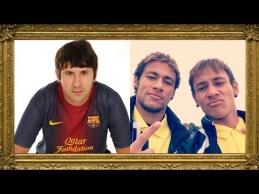 Futbolo žvaigždžių antrininkai. Ar jie panašūs?