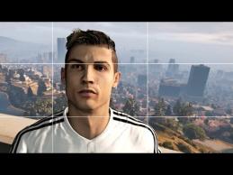 C.Ronaldo nuotykiai GTA V žaidime