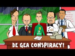 "D.De Gea tapti ""Real"" žaidėju sutrukdė W.Rooney?"