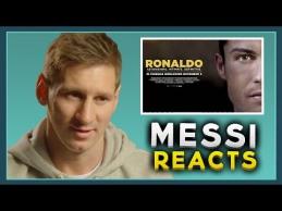 L.Messi reakcija apie filmą su C.Ronaldo