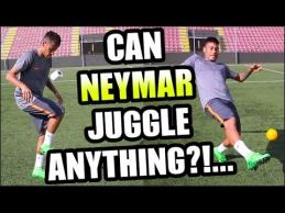 Neymaras gali žongliruoti net ir tualetinį popierių