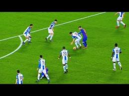 Neįtikėtini L.Messi epizodai