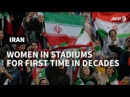 Irane moterys galės patekti į stadionus