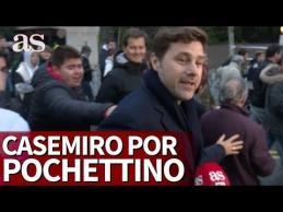 """M. Pochettino apsilankė """"Real"""" rungtynėse"""