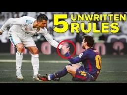 Nerašytos futbolo taisyklės