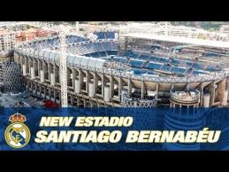 """Rekonstruojamas """"Santiago Bernabeu"""" stadionas"""