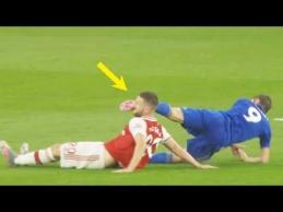 Kraupūs incidentai futbole