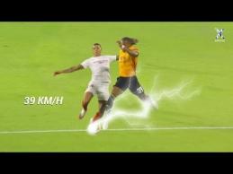 Greičiausi futbolo sprintai