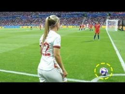 Išskirtiniai moterų futbolo epizodai