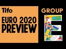 """Euro 2020"" E grupės analizė"